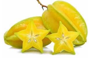 Карамбола (карамболь, звездный фрукт, старфрут)
