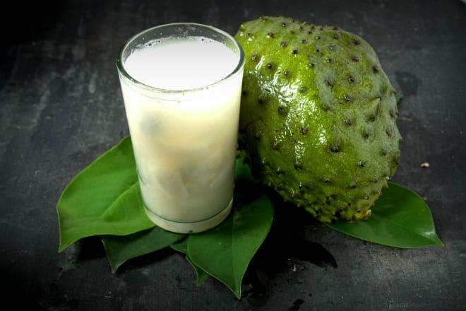 Гуанабана используется в том числе для приготовления коктейлей
