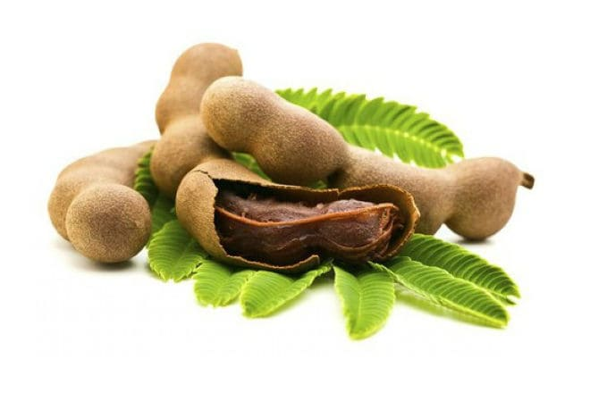 Как выглядят плоды фрукта тамаринд?