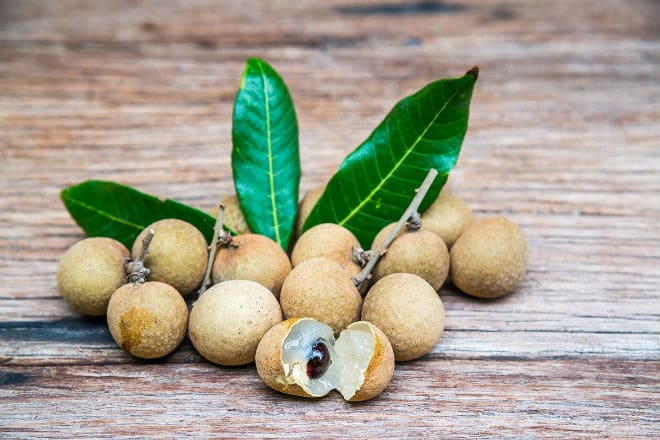 Плоды лонгана