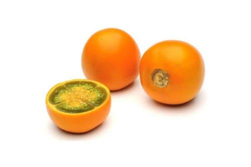 Как выглядят плоды луло