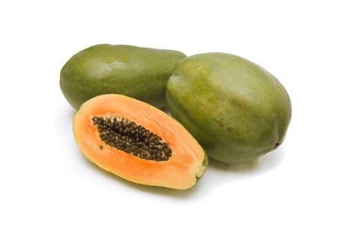 Как выглядит фрукт папайя?