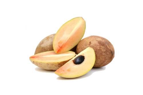 Как выглядит фрукт саподилла
